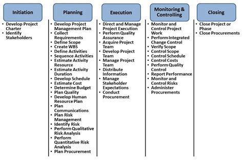 Five Phases Of Project Management Essay by Desai Management Consulting