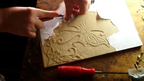 introduction  relief carving woodmdf youtube