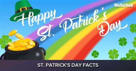 s day statistics 2018 st patrick s day facts wallethub 174