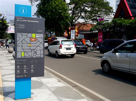 design studio bandung bandung city wayfinding signage kudos design collaboratory