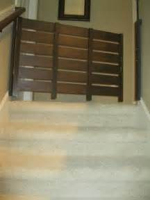 swinging baby gates for top of stairs diy baby gate for stairs diy house stuff pinterest