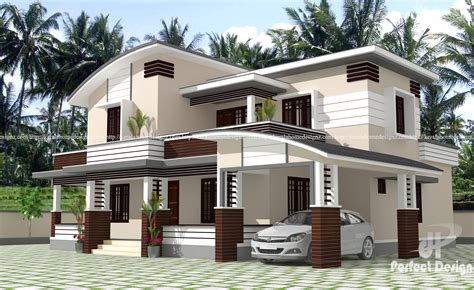 beautiful modern home design at calicut kerala home design