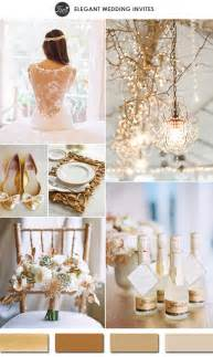 2015 wedding colors 10 gold wedding color ideas 2016 wedding trends