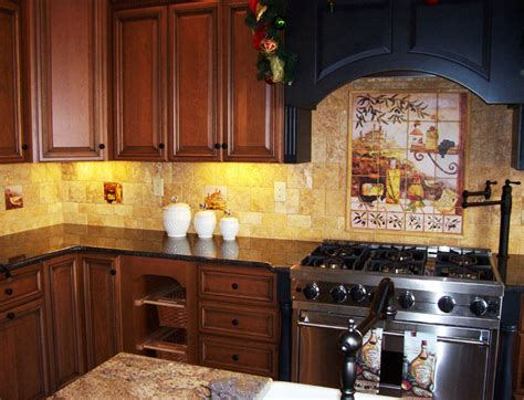 italian inspired decor tuscan style kitchens