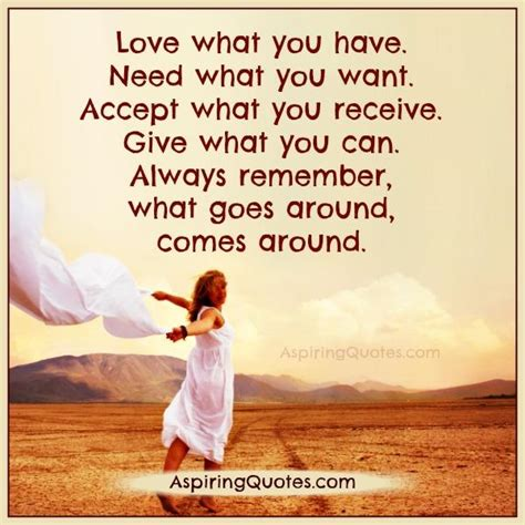 What Goes Around Comes Around by Think Before Reserving A Space In Your For