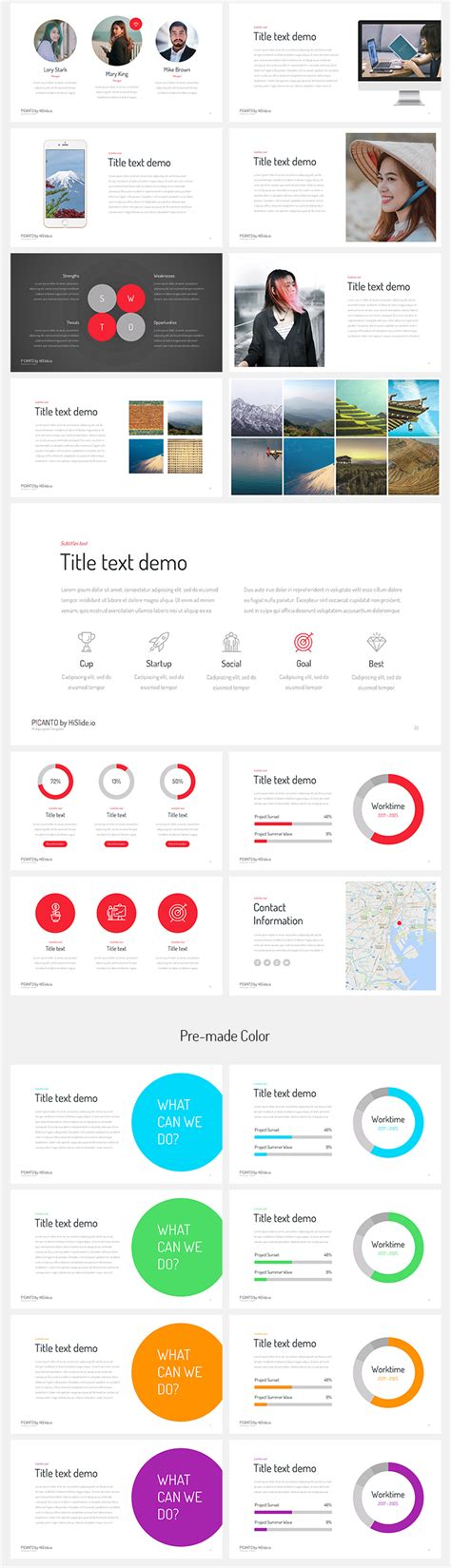 picanto keynote template free download now premium design