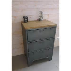 Superbe Meuble Peint Gris #5: meuble-industriel-militaire-clapets.jpg