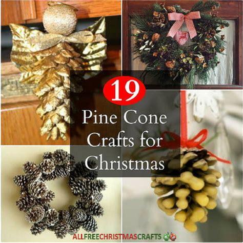 pine cone crafts  christmas allfreechristmascraftscom