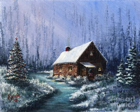 images of christmas in the country christmas in the country painting by rita miller