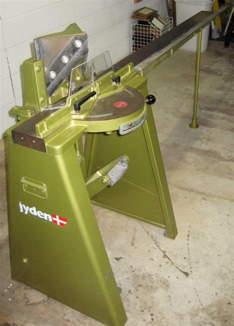 jyden foot chopper used picture framing equipment