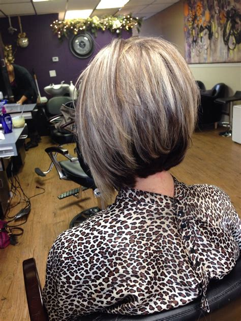 short high bob short bob stacked high in the back hairstylegalleries com