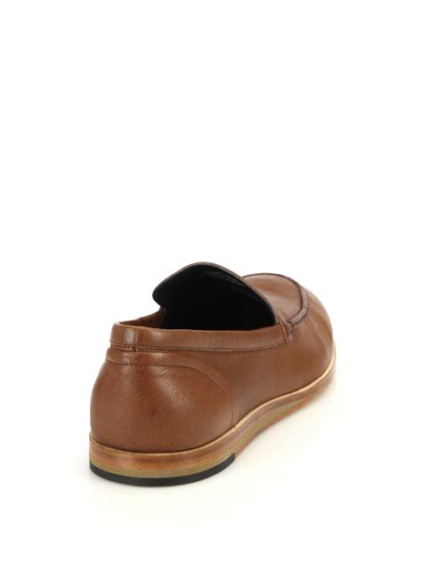 cole haan brown loafer cole haan bedford venetian loafer in brown for lyst