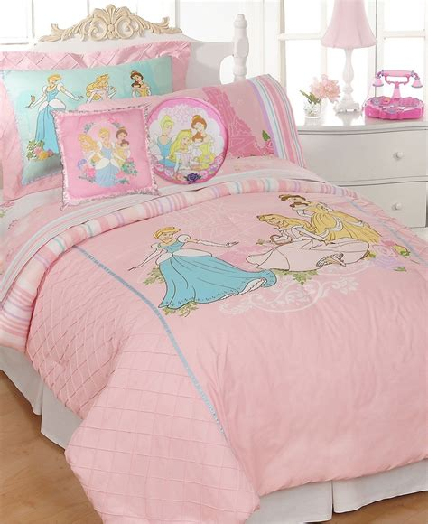 Toddler Bed In A Bag Sets Disney Bedding Disney Princesses Comforter Sets Bed In A Bag Bed Bath Macy S