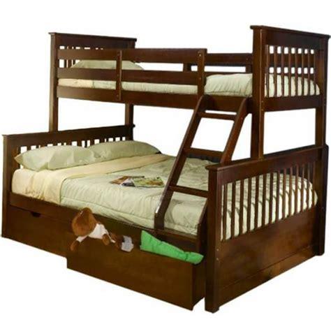 Tempat Tidur Kayu 2 Tingkat tempat tidur anak model tingkat kayu jati
