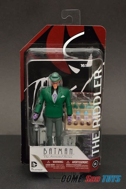Tas Coach Set 3 In 1 Green Series Jj 1654 come see toys dc collectibles batman the animated series btas the riddler