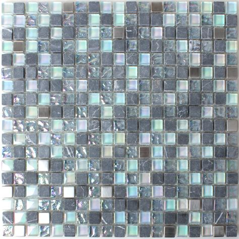Mosaik Fliesen Bad Grau by Glas Marmor Perlmutt Effekt Mosaik Fliese Grau Mix Tm33219m