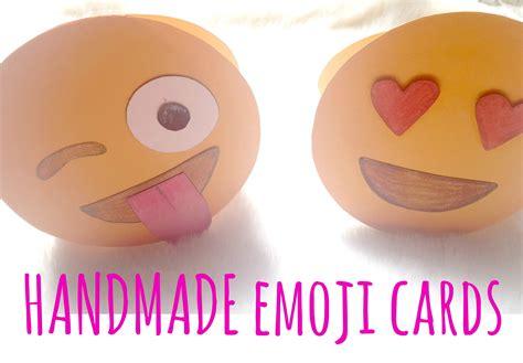 card emoji how to make an emoji greeting card stuff