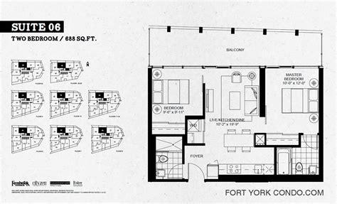 2 bedroom condo floor plans garrison point condos preconstruction fort york condo