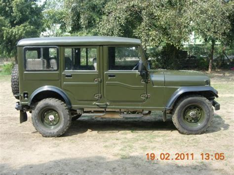 Major Jeep Modified Mahindra Cj 500d My Modified Jeep History Of Mahindra