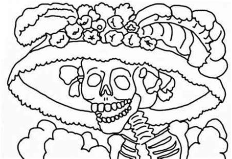 imagenes para colorear ofrendas dia muertos dibujos para colorear de dia de muertos