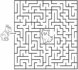 Printable Maze Actividades Para Ni 241 Os Preescolar Primaria E Inicial