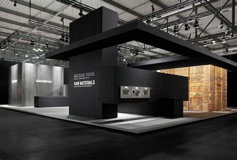booth design architecture gaggenau stand at eurocucina 2012 by eins 33 milan
