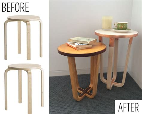 ikea stool hack ikea hack frosta stool the second copper and lime wash