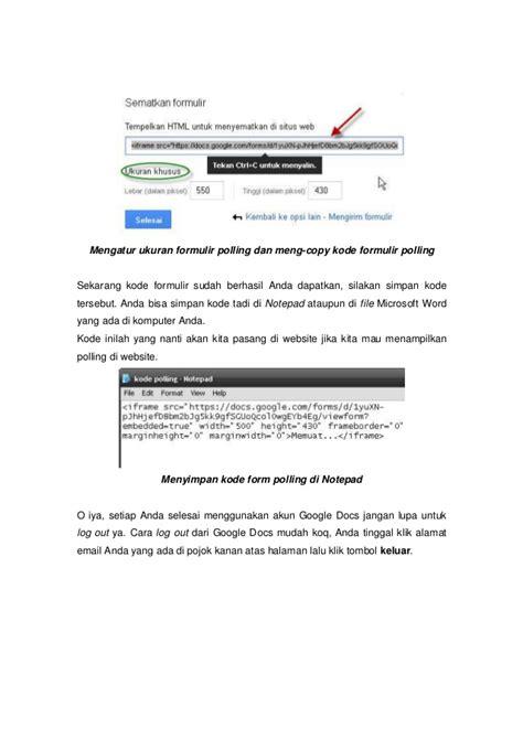 ebook membuat novel ebook cara mudah membuat polling di internet