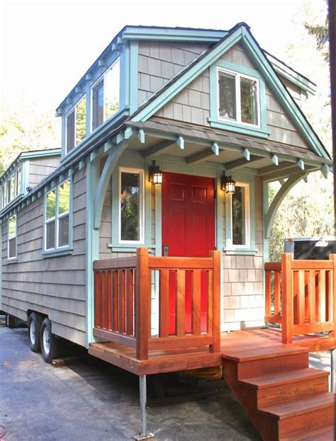 tiny house styles 170 sq ft craftsman bungalow molecule tiny home