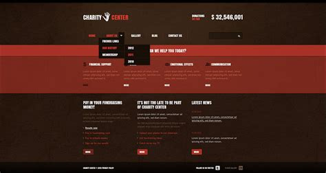 drupal themes nonprofit charity drupal themes free premium templates creative