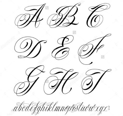 cursive j tattoo designs 9 fancy cursive letters jpg