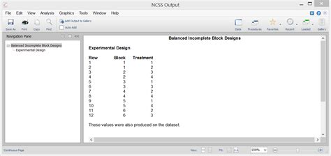 experimental design program experimental design software ncss statistical software