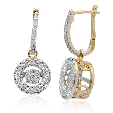dcny diamonds in motion 14kt gold