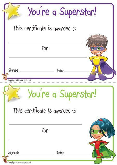 printable superhero id cards free kid certificates superheros google search job