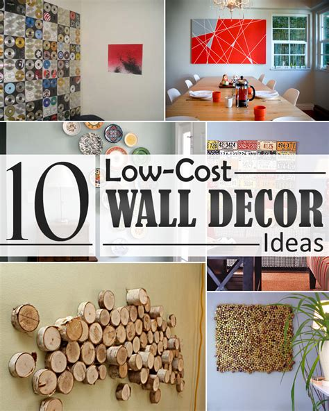 cheap decor ideas cheap wall decoration ideas jumply co
