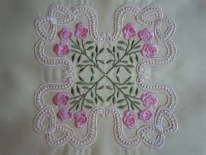 items similar to stitched machine embroidery quilting