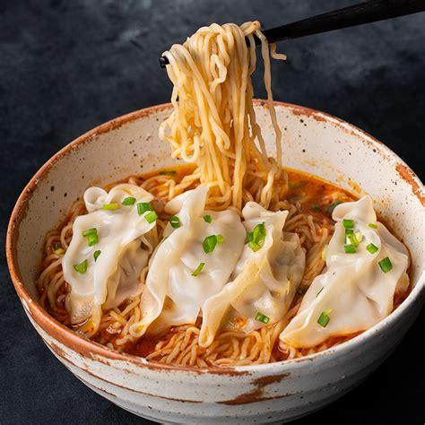 spicy peanut dumpling noodle soup marions kitchen