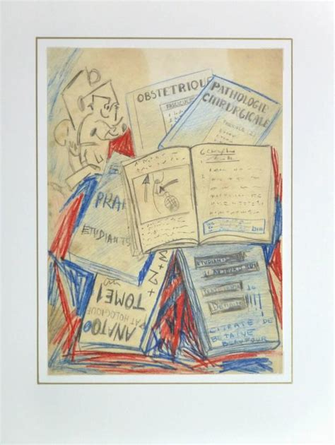 L Drawing Book by Unknown Vintage Abstract Drawing Books For Sale