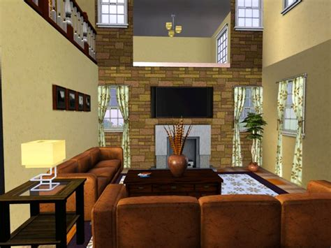 Sims 2 Living Room by Mod The Sims Villa Malibu