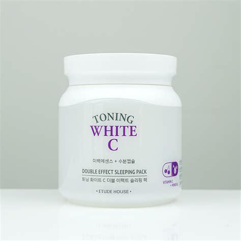 Harga Etude House Toning White C etude house toning white c effect sleeping pack review