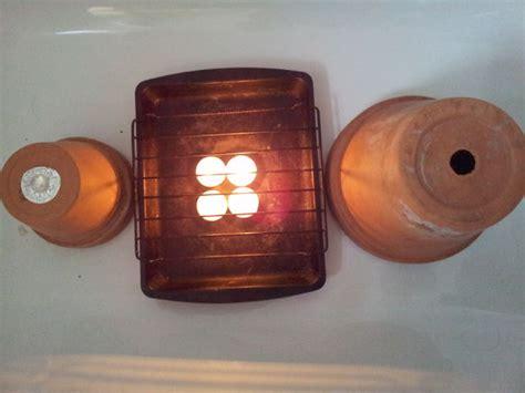 Huis Verwarmen Met Kaarsen by Estufa De Macetas Paso A Paso Date Un Capricho