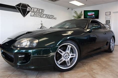 98 Toyota Supra 98 Toyota Supra Lb Sport Roof Turbo Cars For Sale