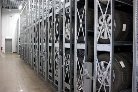 tire rack mobile shelving system constructor reference