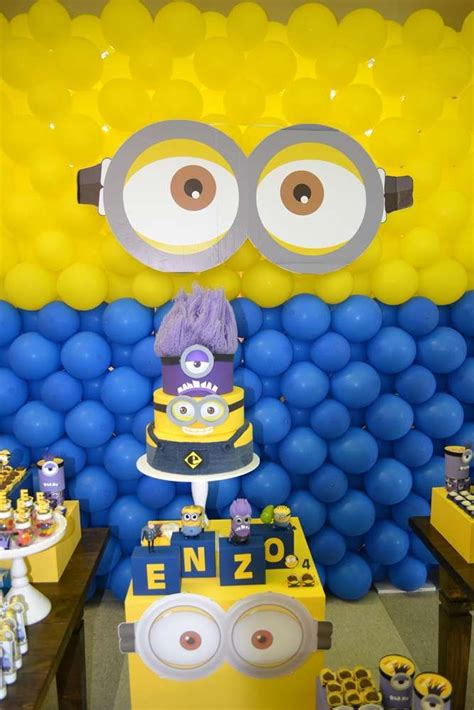 birthday themes minions 338 best images about minions birthday with free