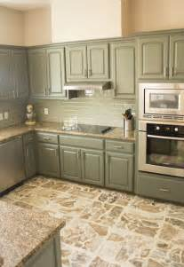 colored painted kitchen cabinets best 25 green kitchen ideas on