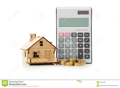 house mortgage rates calculator home loan calculator stock image image 30191451