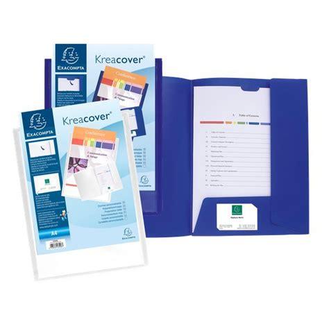 cartellette ufficio cartellette di presentazione personalizzabili kreacover