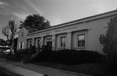 Lamar Post Office by Taking Cues From Mediterranean Revival Style The 1936
