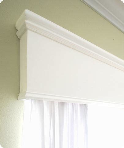 Wood Cornice Box Woodwork Build Wood Valance Pdf Plans