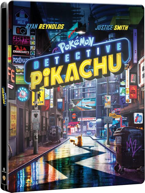 detective pikachu limited edition  steelbook includes